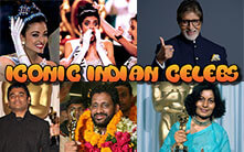 Iconic Indian Celebs