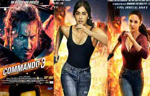 Movie Details Commando 3 : He Is Back