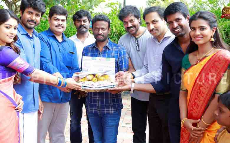 "Actor Sivakarthikeyan's new film ""SK16"" starts rolling"