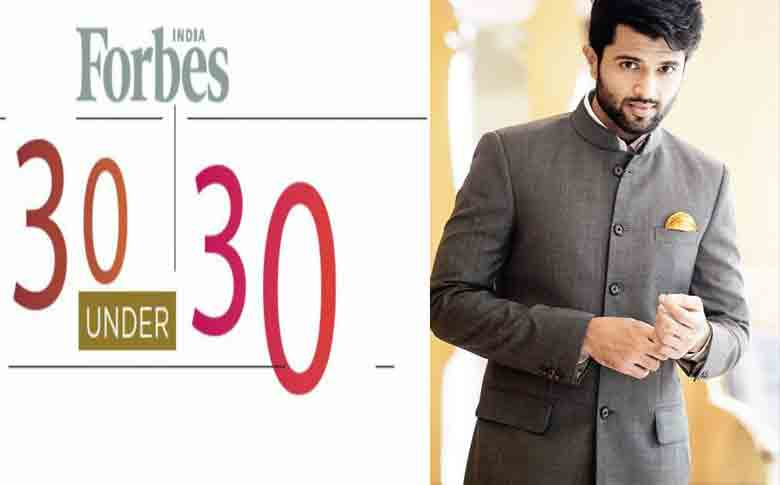 Actor Vijay Devarakonda named in Forbes' India 30 under 30