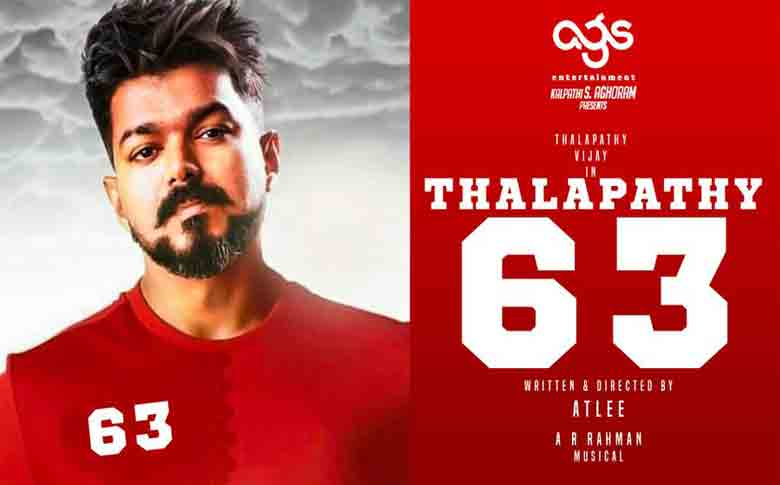 Actor Vijay to play an athlete in Thalapathy 63