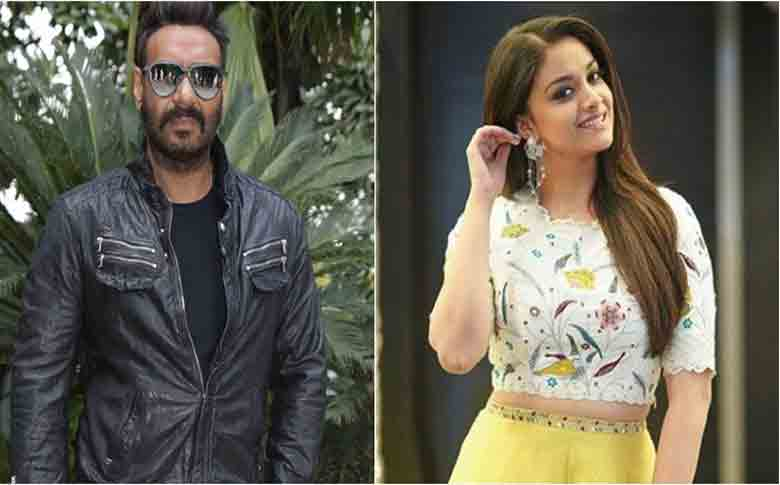 Actress Keerthy Suresh to debut in Bollywood with Ajay Devgan