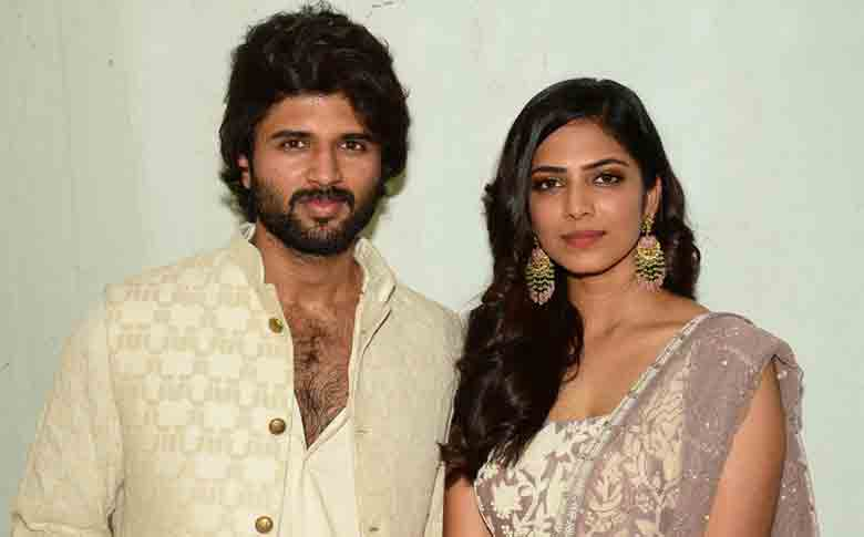 Actress Malavika Mohanan to act with Vijay Devarakonda