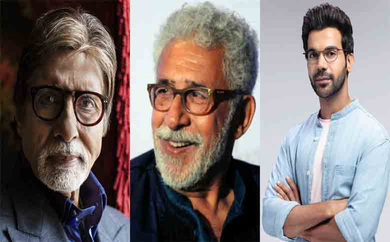 Amitabh Bachchan, Rajkummar Rao, and Naseeruddin Shah to work together for a movie?