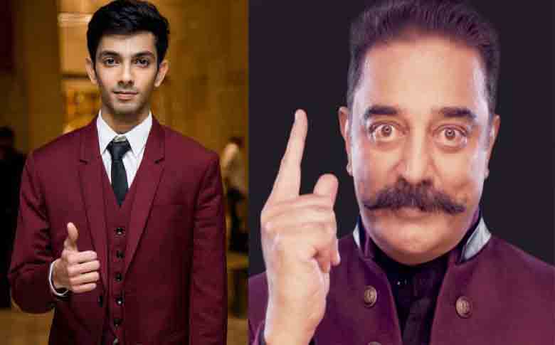 """Anirudh Ravichander to compose music for Kamal Hassan's """"Indian – 2"""""""