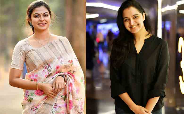 Anusree join hands with Manju Warrier in 'Prathi Poovankozhi'