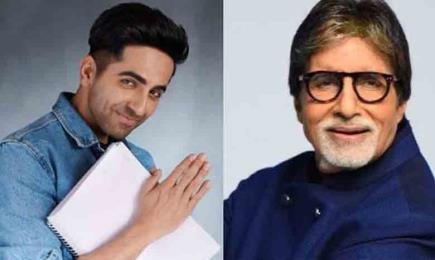 Big B and Ayushmann Khur