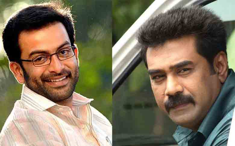Biju Menon and Prithviraj to join hands again with Sachy