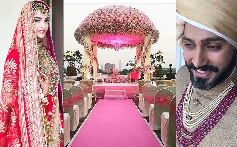 Bollywood actress Sonam Kapoor weds Anand Ahuja in Mumbai