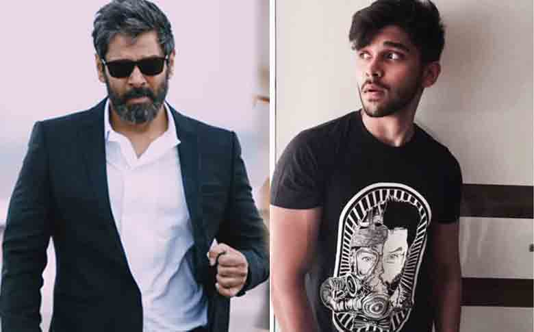 Chiyaan Vikram and Dhruv to act in a movie soon?