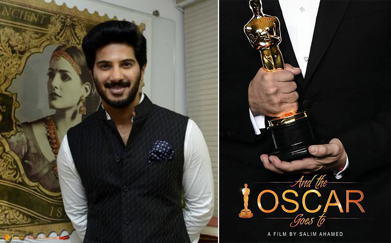 Dulquer Salman in 'And The Oscar Goes To'!!