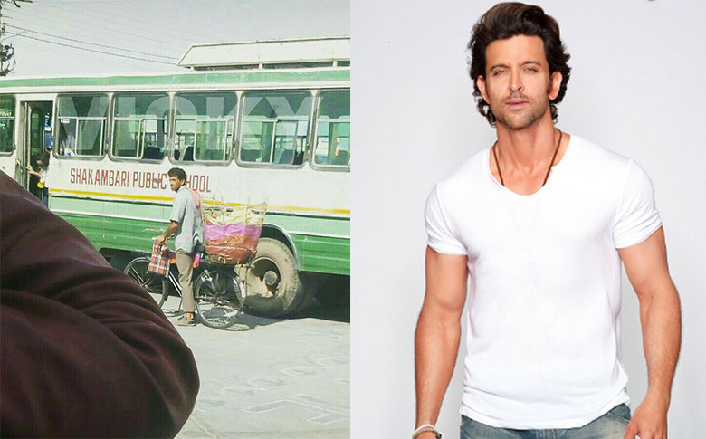 Hrithik Roshan character transformation for Super30 movie; pictures goes viral