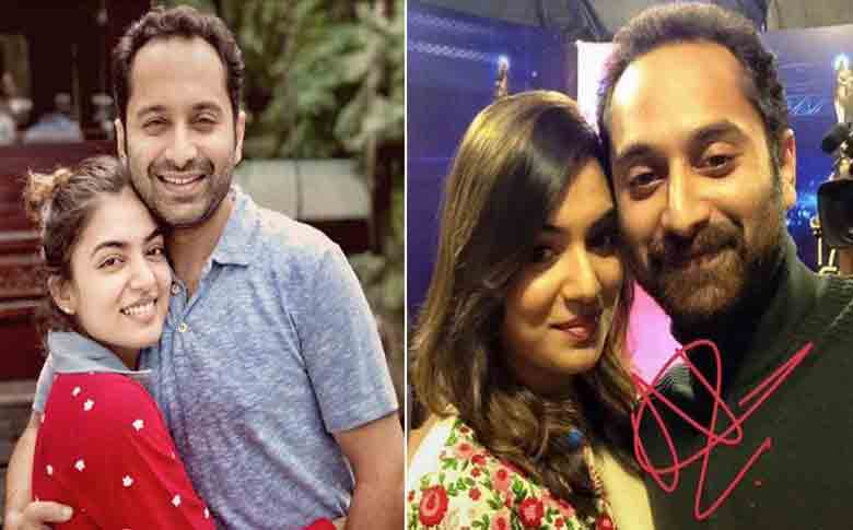 Nazriya to work with Fahadh Faasil in Trance
