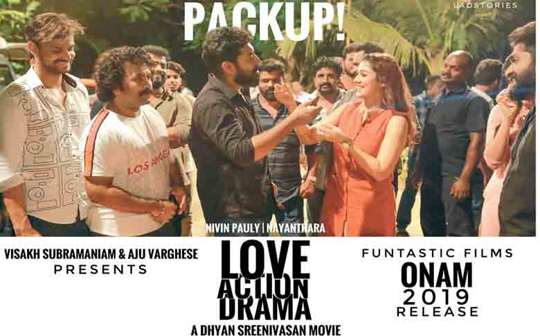 Nivin Pauly-Nayanthara starrer Love Action Drama shooting wrapped up