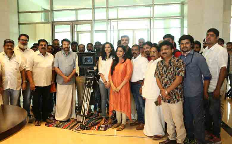 Ramesh Pisharody directorial movie with Mammootty starts