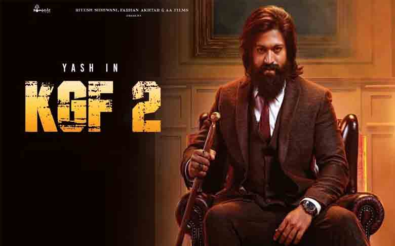 Rocking star Yash starring 'KGF Chapter 2' teaser to release on January