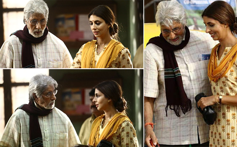 Shweta Bachchan makes her acting debut with father Amitabh for an ad!