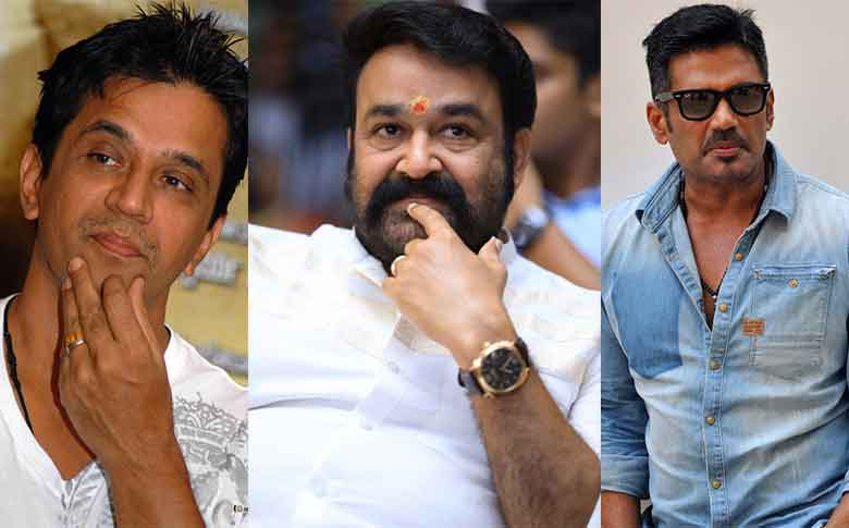Suniel Shetty and Arjun team up with Mohanlal for Marakkar movie