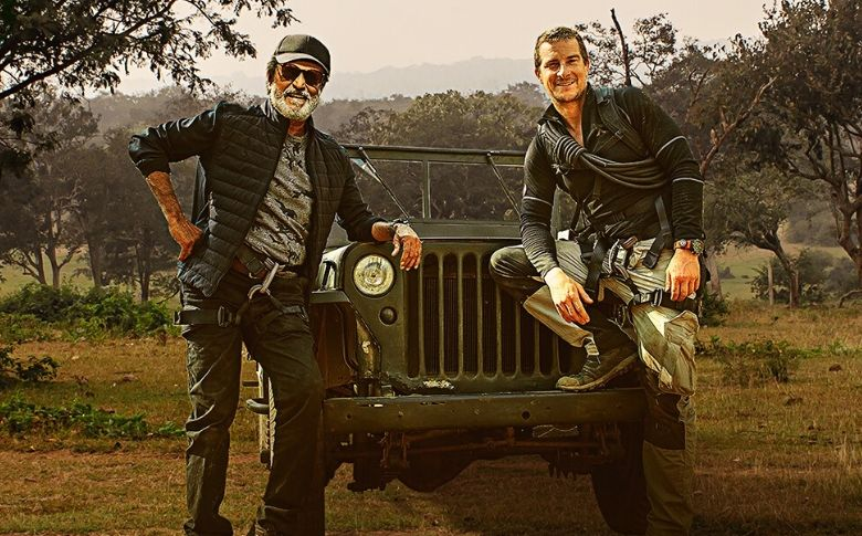 Superstar Rajinikanth's Man Vs Wild with Bear Grylls Trailer is out…