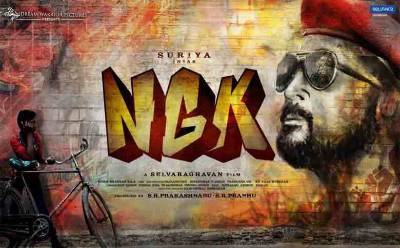 Suriya's NGK final schedule begins, planning for Summer 2019 release