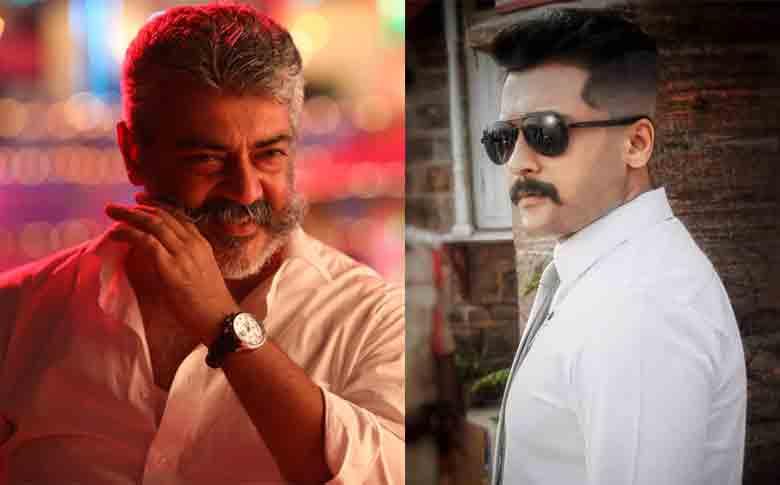 Thala Ajith and Actor Suriya to clash this summer?