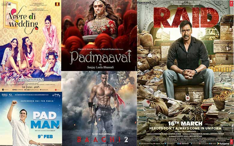 Top 5 highest box office collected movie in Bollywood till mid 2018