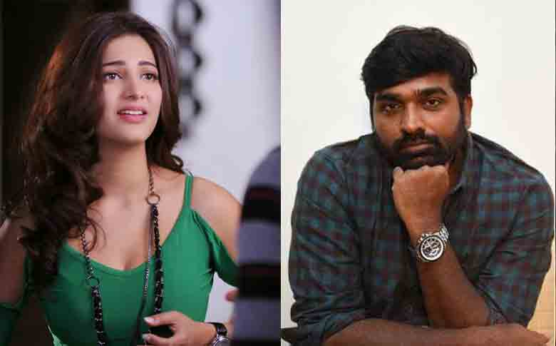Vijay Sethupathi and Shruti Haasan to join hands